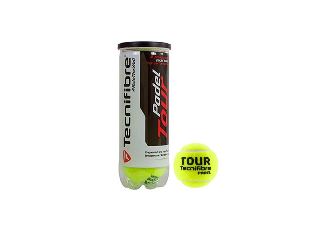 Tecnifibre Padel Tour (3 Ballen)