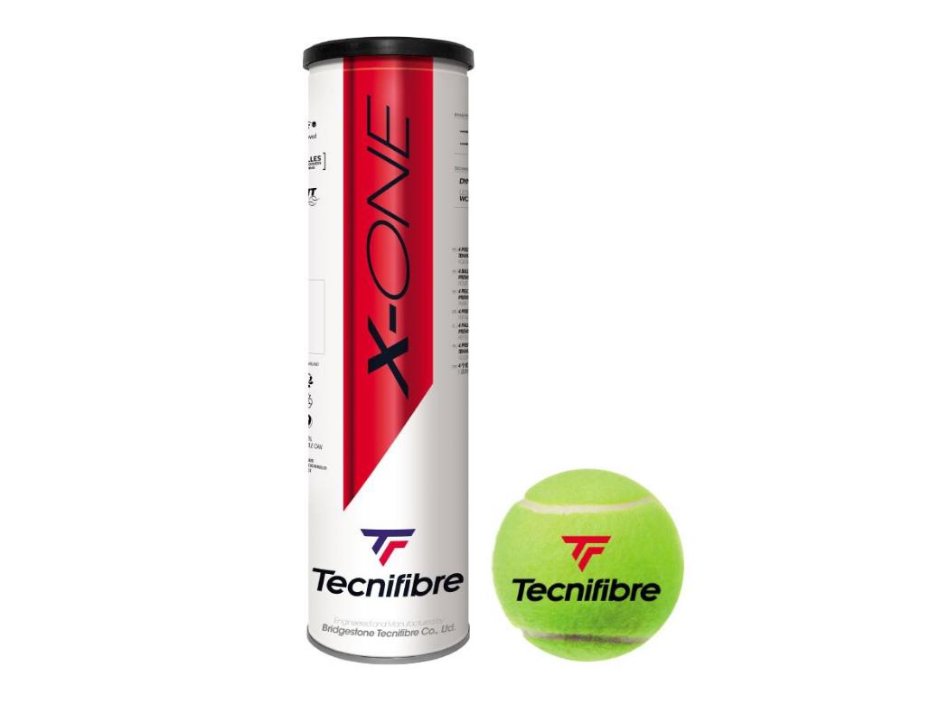 Tecnifibre X-One (4 Ballen)